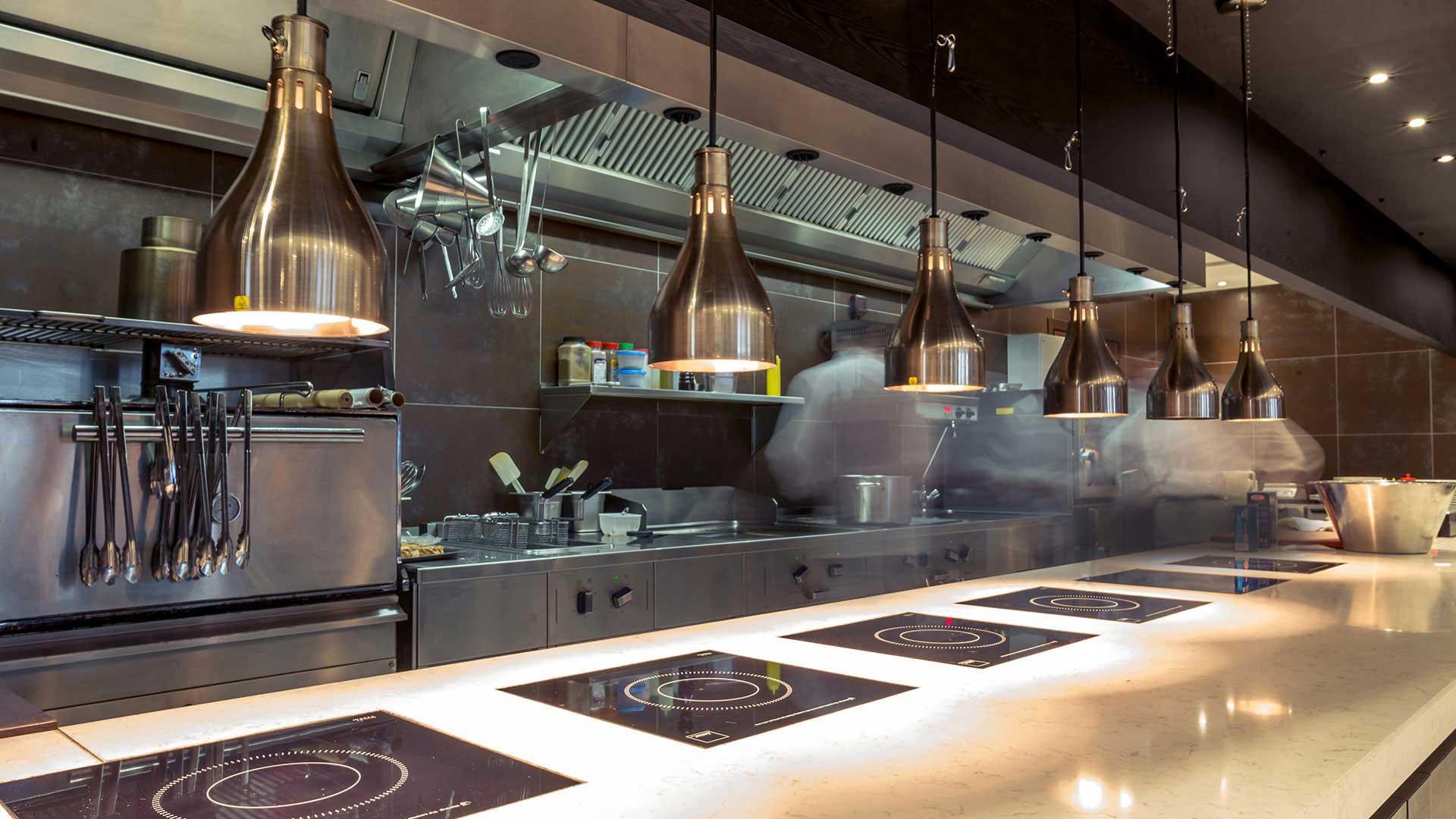 Slider Senkron Mutfak Endüstriyel Mutfak